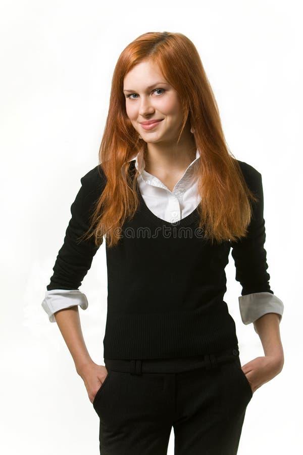 attraktiva affärskvinnor royaltyfri foto