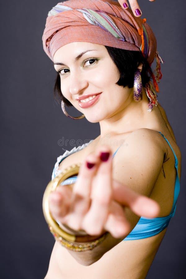 Attraktive asiatische Frau stockfotos