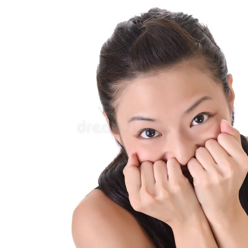 Attraktive Augen stockfotografie