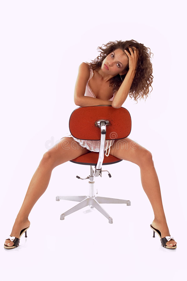 Attraktive Frau lizenzfreie stockbilder