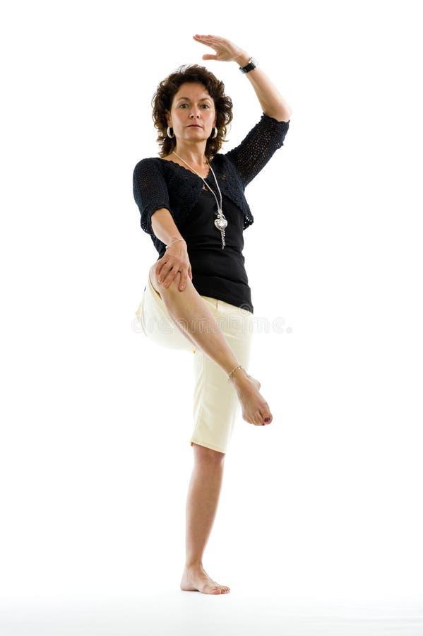 Attraktive Frau in ihrem 40s stockfotos
