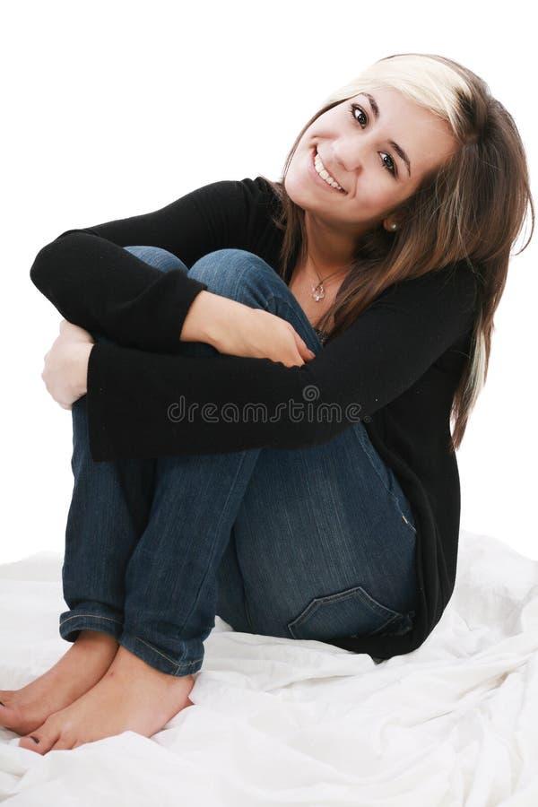 Attraktive Jugendliche stockfoto