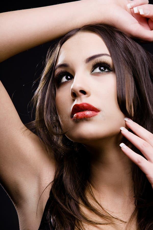 Attraktive junge Frau. lizenzfreie stockfotos