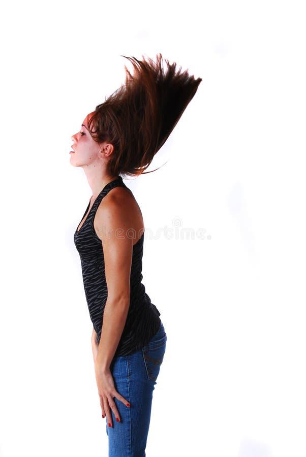 Attraktive junge Frau lizenzfreie stockbilder
