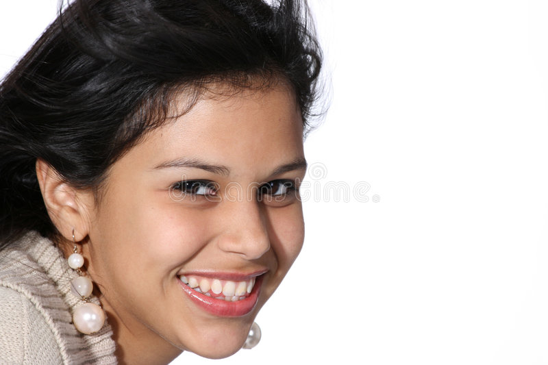 Attraktive junge Frau lizenzfreie stockfotografie
