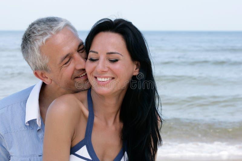 Attraktive Paare lizenzfreies stockbild