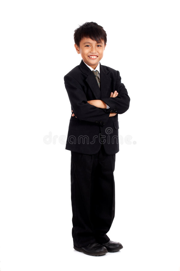 Attraktiver junger Geschäftsmann stockbilder