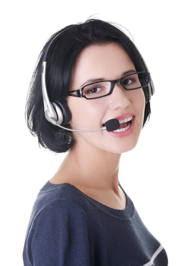 Download Attraktiver Produktspezialist Stockbild - Bild von überzeugt, service: 27729357