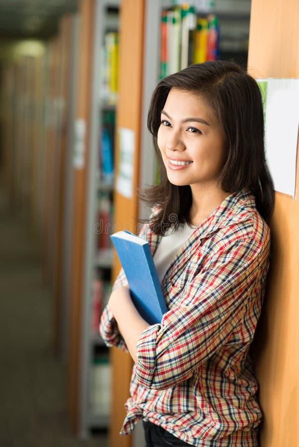 Attraktiver Student stockbild
