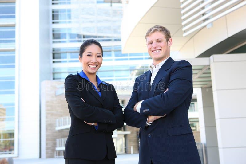 Attraktives Geschäfts-Team lizenzfreies stockfoto