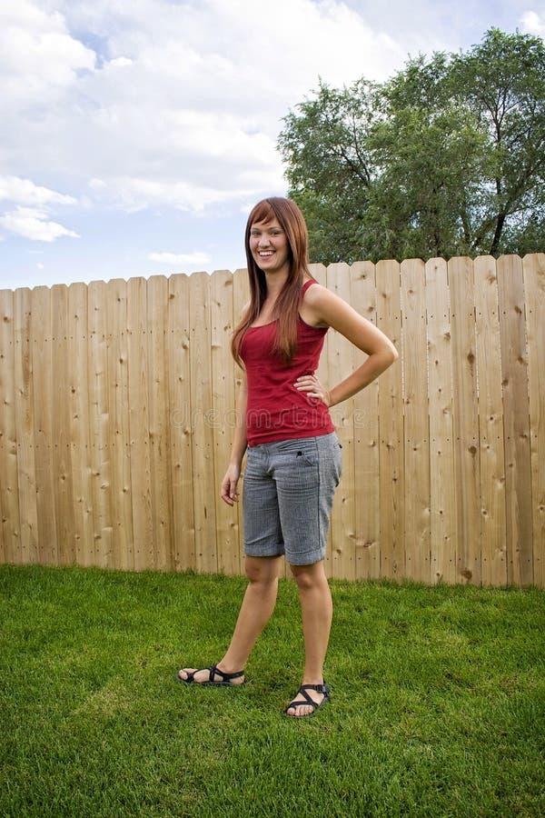 Attraktives Mädchen lizenzfreies stockfoto