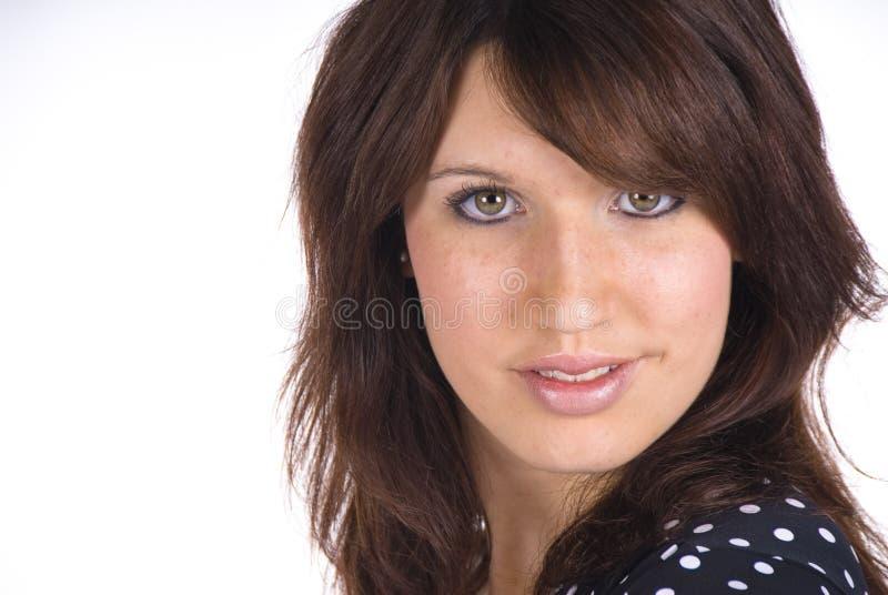 attraktivt kvinnabarn royaltyfri fotografi