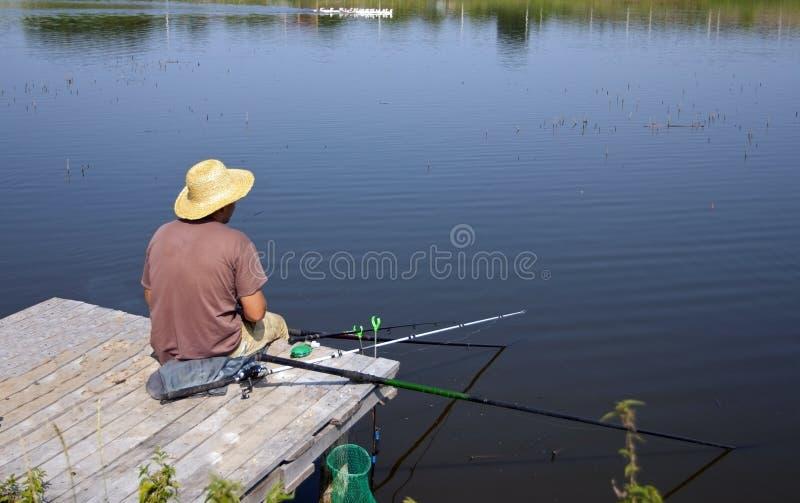 Attraper des poissons image stock