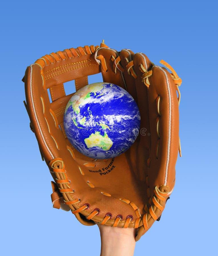 Attrapez le globe image stock