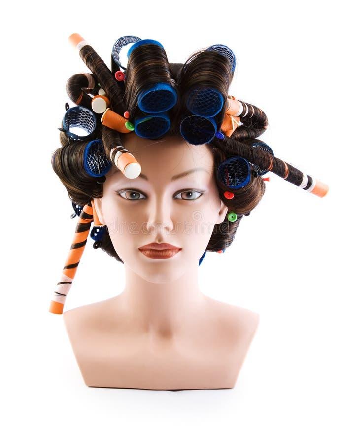 Attrappe des Haares lizenzfreie stockbilder