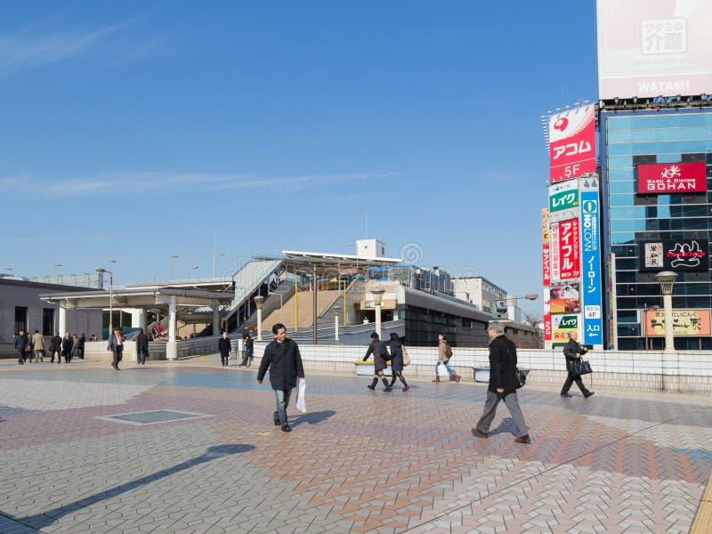 Attraversamento vicino a Ueno immagine stock libera da diritti