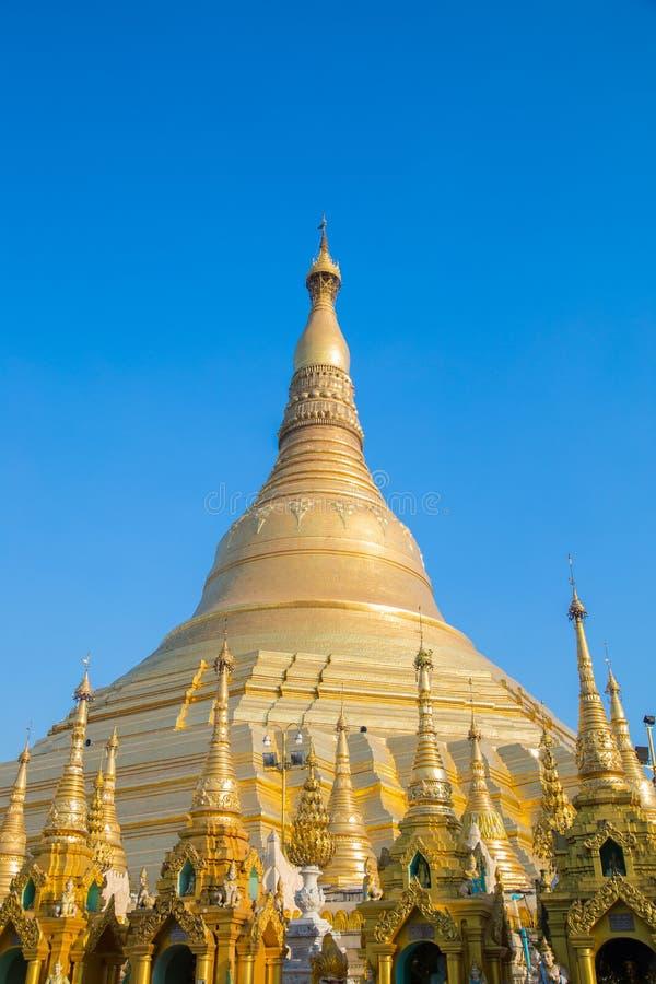 Attrazione di viaggio del Myanmar della pagoda fotografia stock