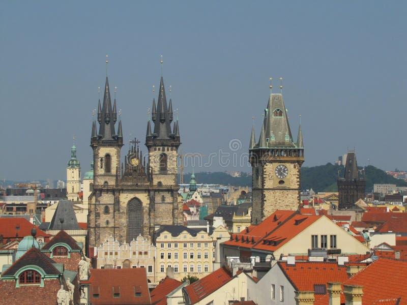Attrazione a Praga fotografie stock libere da diritti
