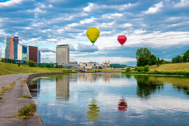 Attrazioni di Vilnius immagini stock