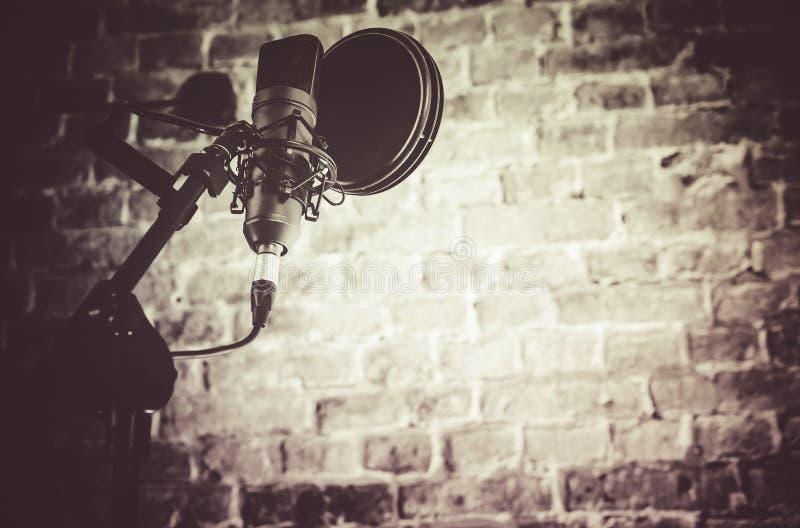 Attrezzatura dello studio di registrazione fotografia stock libera da diritti
