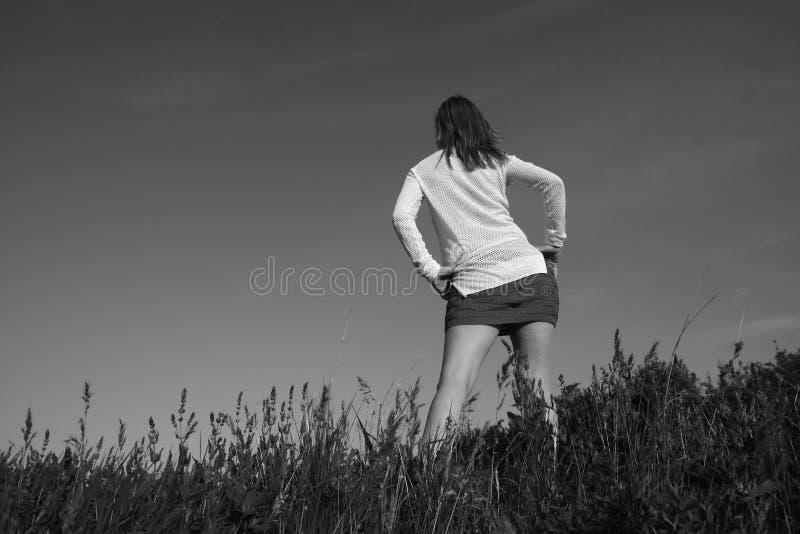 Attrezzatura di estate della ragazza fotografie stock libere da diritti