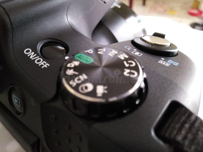Attrezzatura di fotografia - macchina fotografica digitale fotografia stock