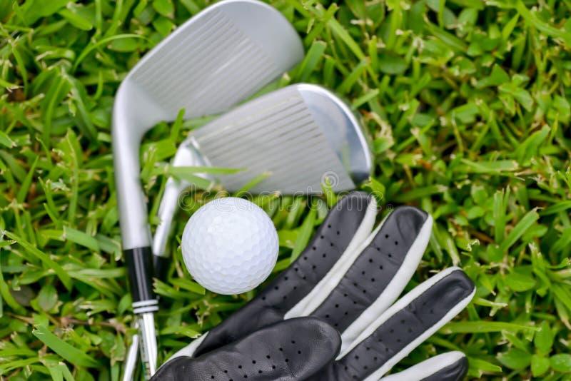 Attrezzatura di golf fotografia stock libera da diritti