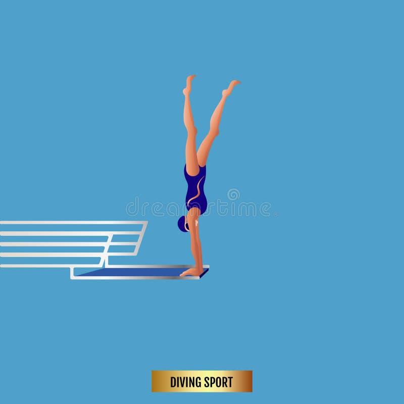 Attrezzatura di sport acquatico Gioco di attività dell'atleta in concorrenza immagine stock libera da diritti