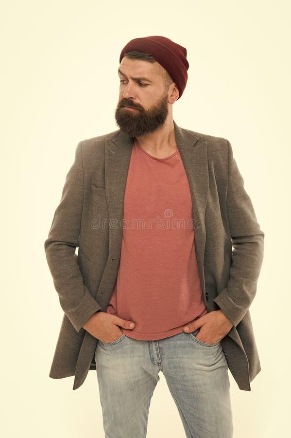 Attrezzatura di tendenza di modo Attrezzatura casuale alla moda per la caduta e la stagione primaverile Abbigliamento maschile e  immagini stock