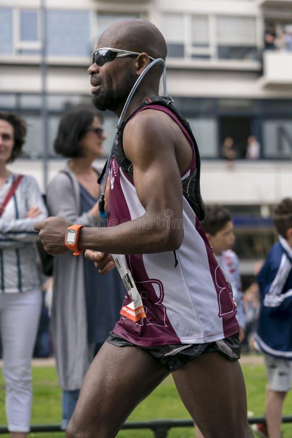 Attrezzatura fresca maratona fotografie stock libere da diritti