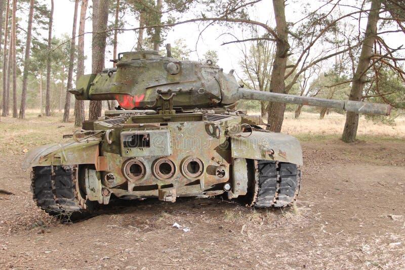 Attrezzatura militare d'annata - carri armati immagine stock libera da diritti