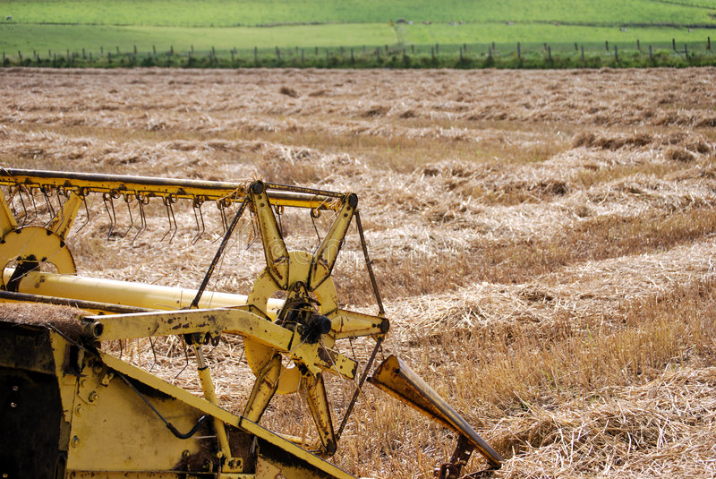 Attrezzature agricole fotografie stock libere da diritti