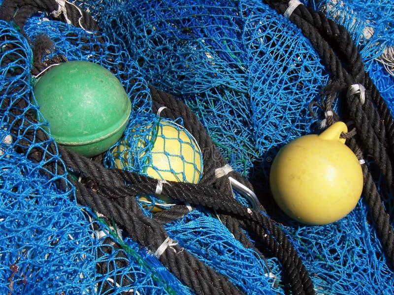 Attrezzo dei pescatori fotografie stock