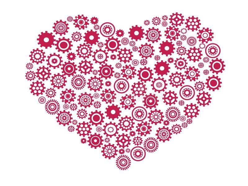 Attrezzo del cuore illustrazione vettoriale