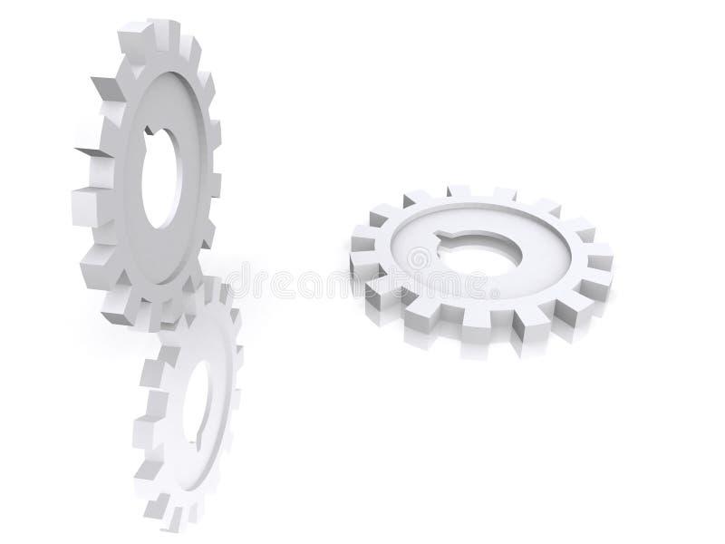Download Attrezzo/ruota dentata illustrazione di stock. Illustrazione di monti - 3880280