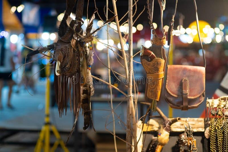 Attributes of Native American Culture at a Native American Festival stock photo