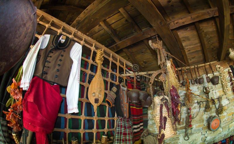 Attributes of rural life in Bulgaria royalty free stock photos