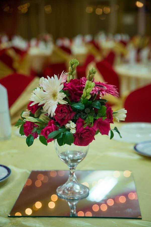 Attributi dei fiori fotografia stock