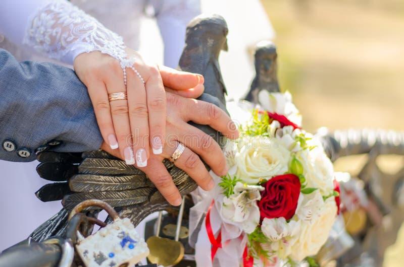 Attributs Wedding photographie stock libre de droits