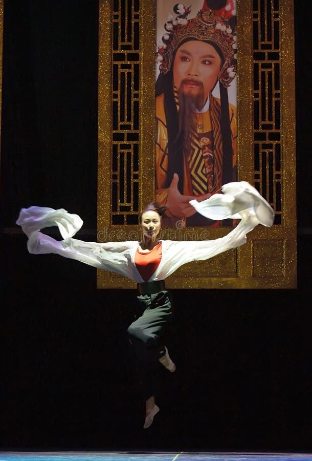 Attrice abbastanza cinese di opera, il ruolo di tan del hua   fotografia stock libera da diritti