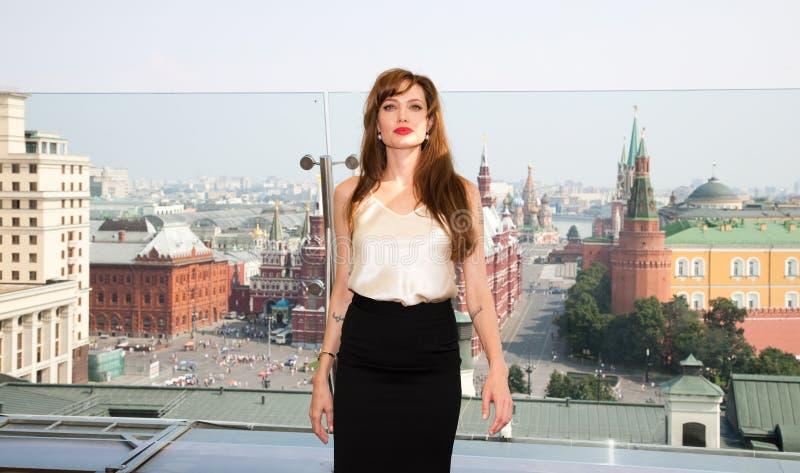 Attrice Angelina Jolie fotografia stock