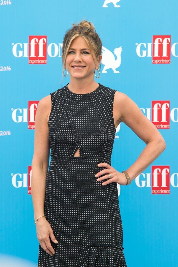 Attrice Jennifer Aniston fotografia stock libera da diritti