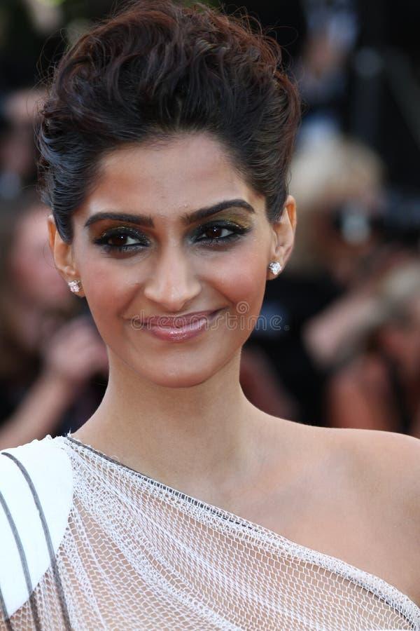 Attrice Sonam Kapoor immagine stock