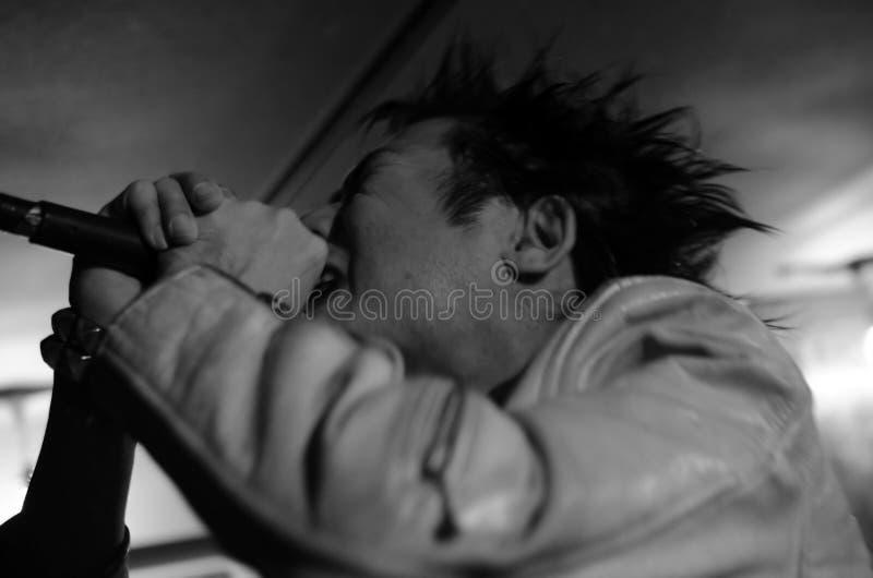 Attuatore punk fotografia stock libera da diritti