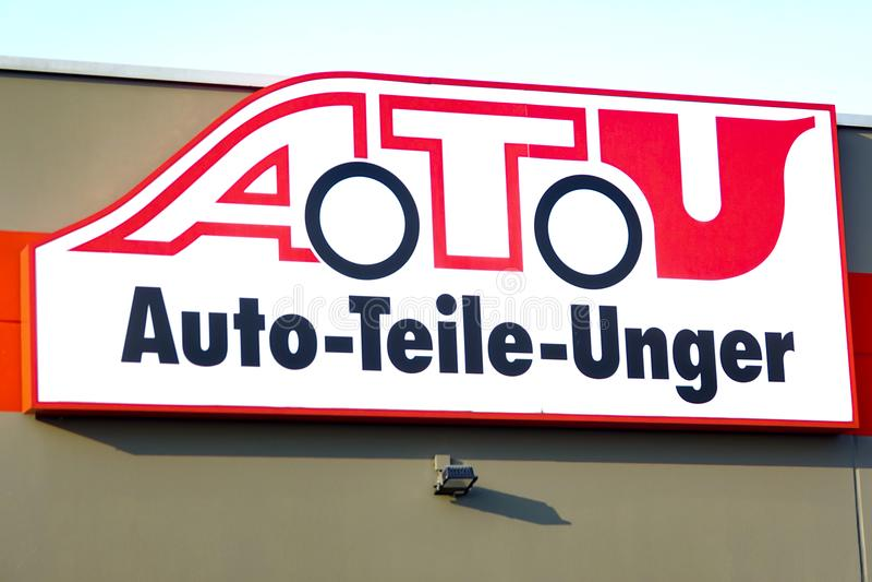 Atu-Logo stockfotografie