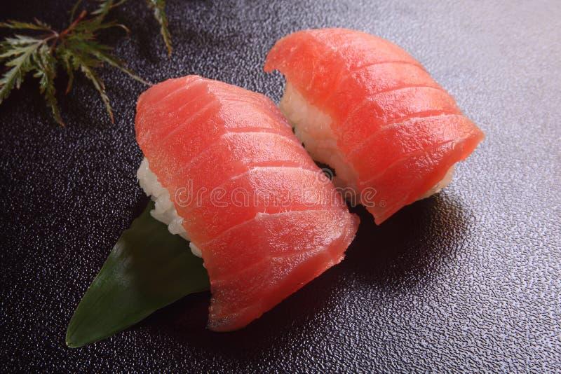 Atum do sushi imagens de stock