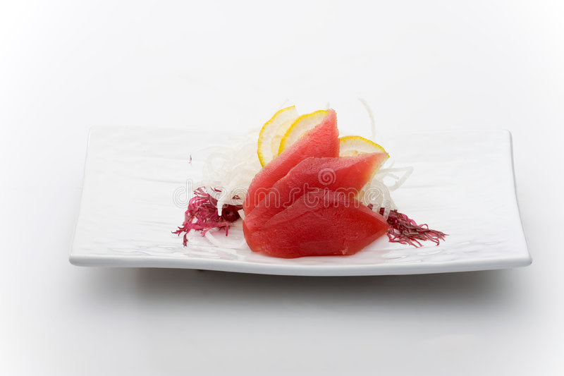 Atum sashimy fotografia de stock royalty free