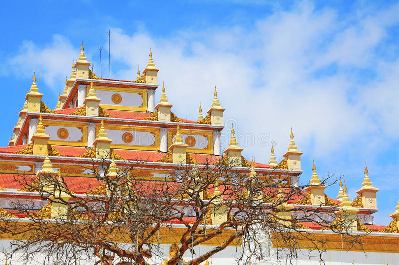 Atumashi Monastery, Mandalay, Myanmar. The Atumashi Monastery is a Buddhist monastery located in Mandalay, Myanmar. It was built in 1857 by King Mindon, two royalty free stock photography