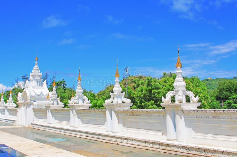 Atumashi Monastery, Mandalay, Myanmar. The Atumashi Monastery is a Buddhist monastery located in Mandalay, Myanmar. It was built in 1857 by King Mindon, two stock photos