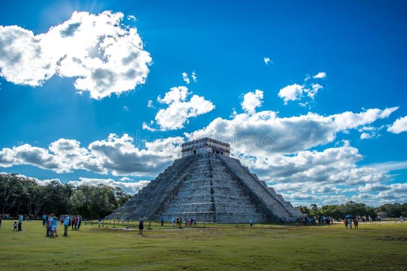 Aturdir chichen a civilização antiga de México do itza foto de stock